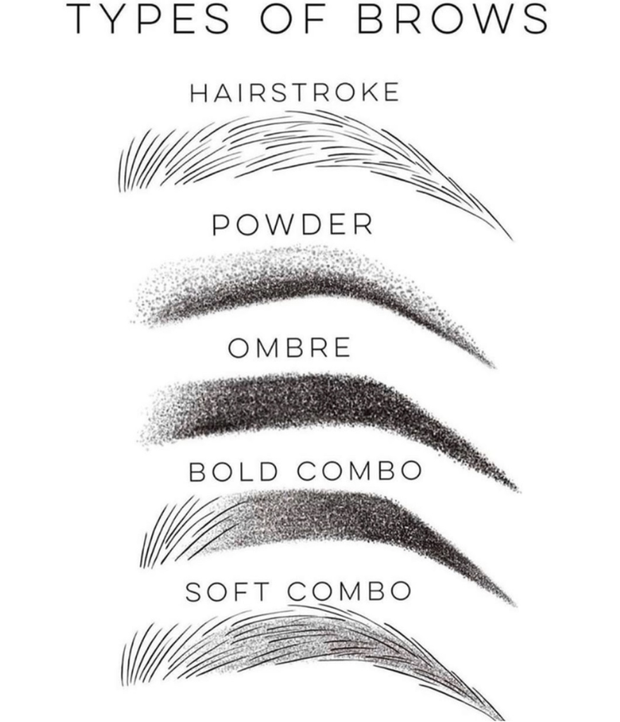 Permanent Makeup To Shape Brows Gives
